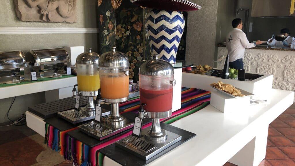 Hilton Guatemala City Frühstück 1