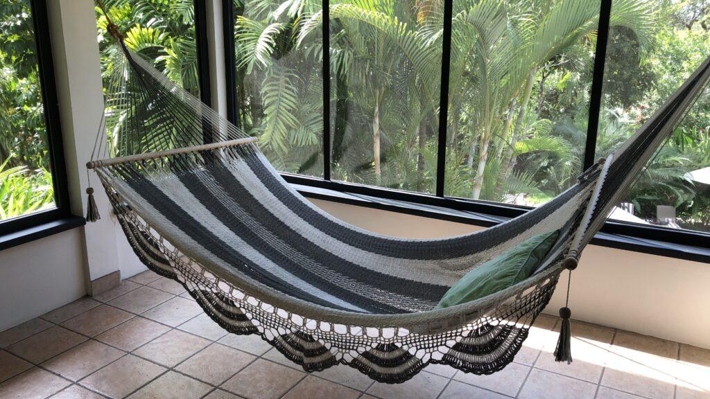 Ka'ana Resort San Ignacio Belize Balam Room Außen Hängematte
