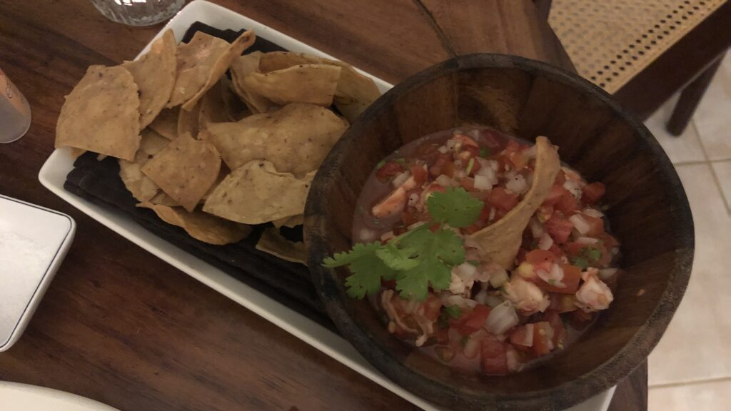 Ka'ana Resort San Ignacio Belize Chips Salsa