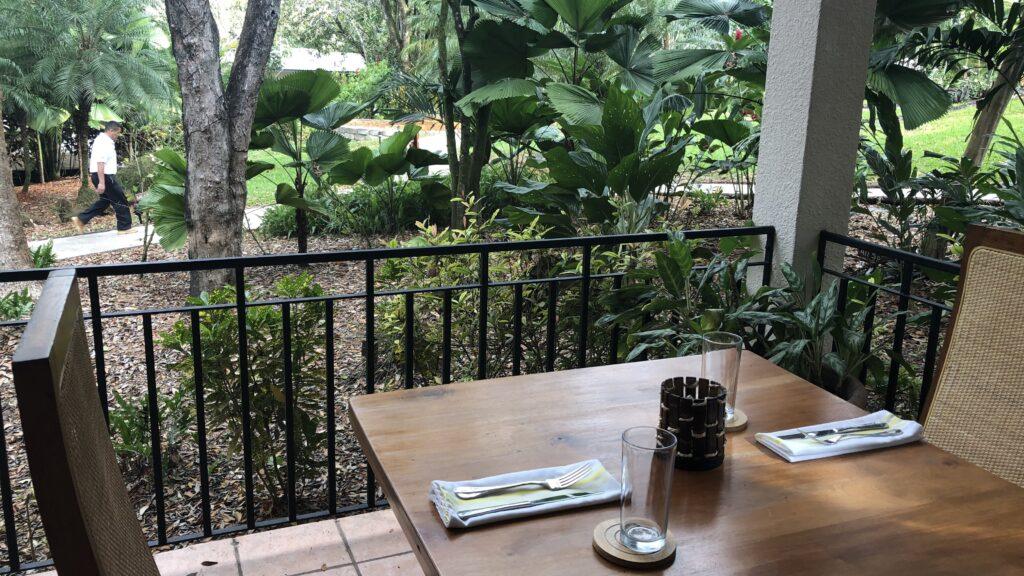 Ka'ana Resort San Ignacio Belize Frühstück View