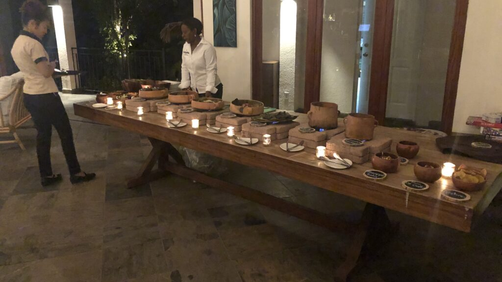 Ka'ana Resort San Ignacio Belize Master Casita Maya Essen