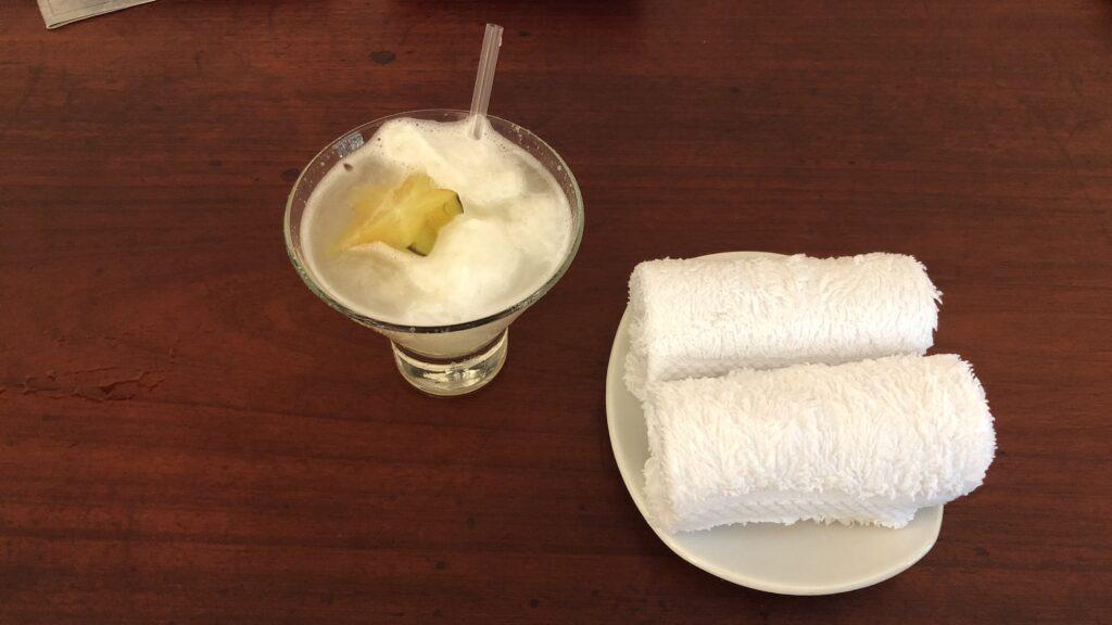 Ka'ana Resort San Ignacio Belize Master Casita Welcome Drink