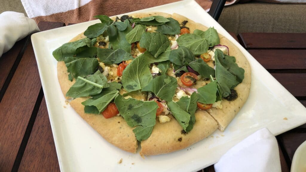 Ka'ana Resort San Ignacio Belize Room Service Pizza