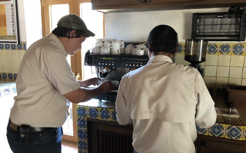 Kaffee Tasting Antigua Guatemala