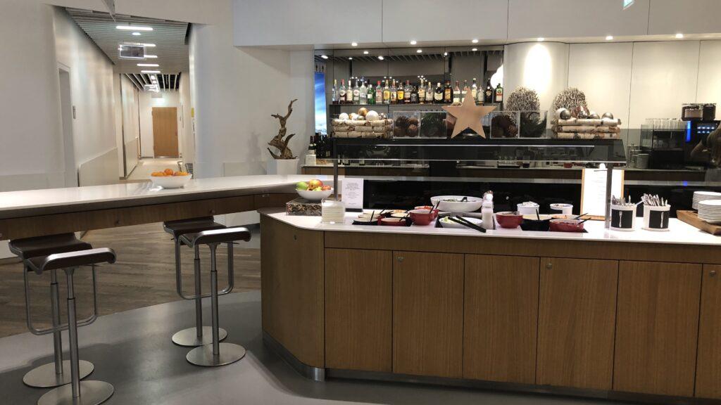 Lufthansa Senator Lounge Frankfurt A Buffet 4