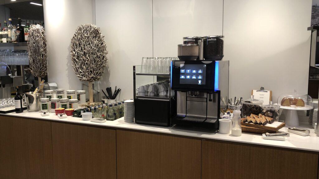 Lufthansa Senator Lounge Frankfurt A Kaffeemaschine