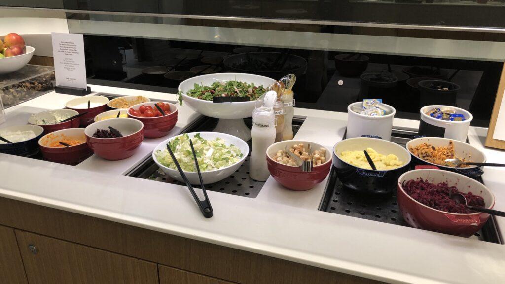 Lufthansa Senator Lounge Frankfurt A Salat