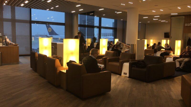 Lufthansa Senator Lounge Frankfurt A Sitze