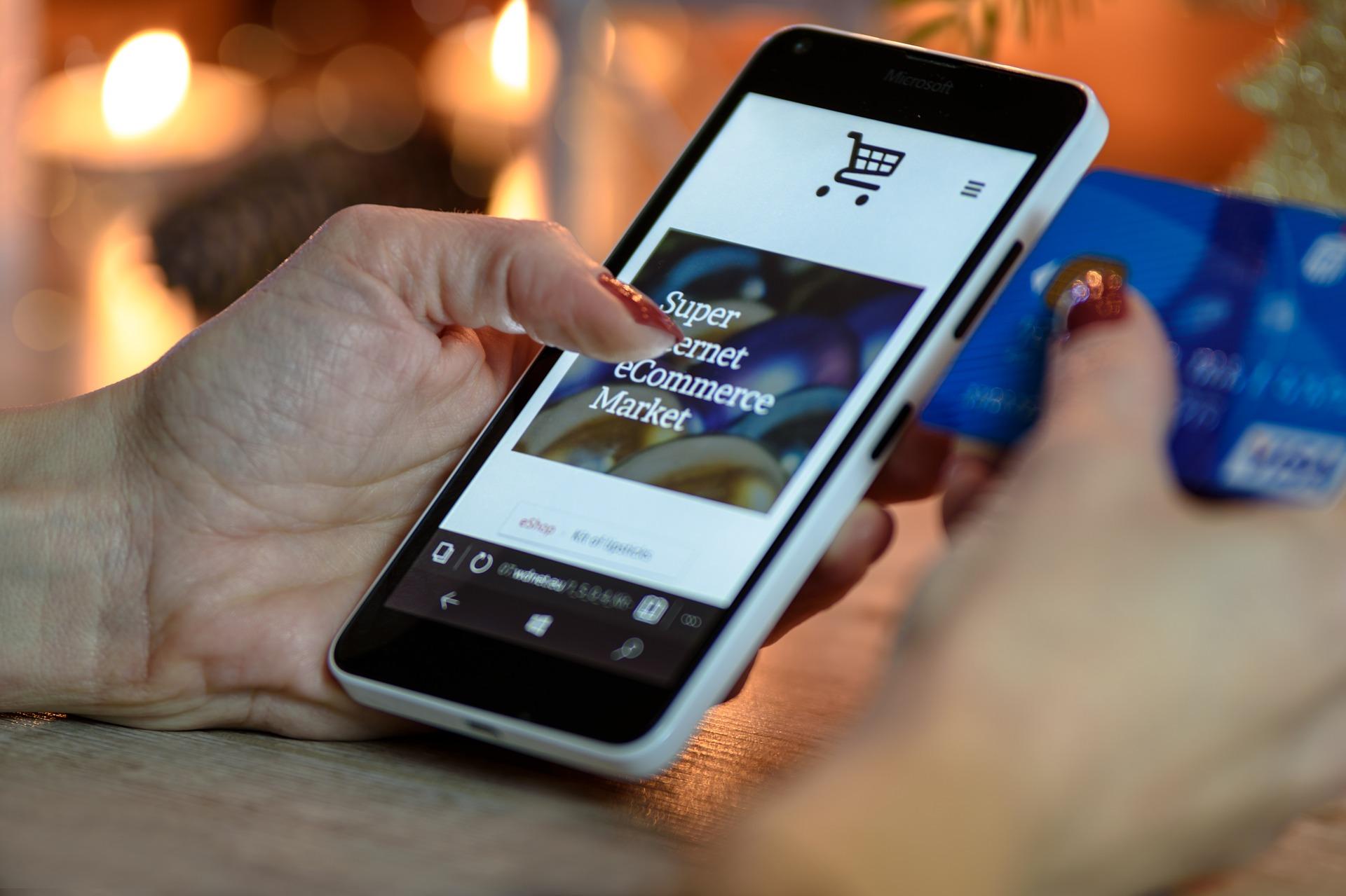Online Shopping Kreditkarte