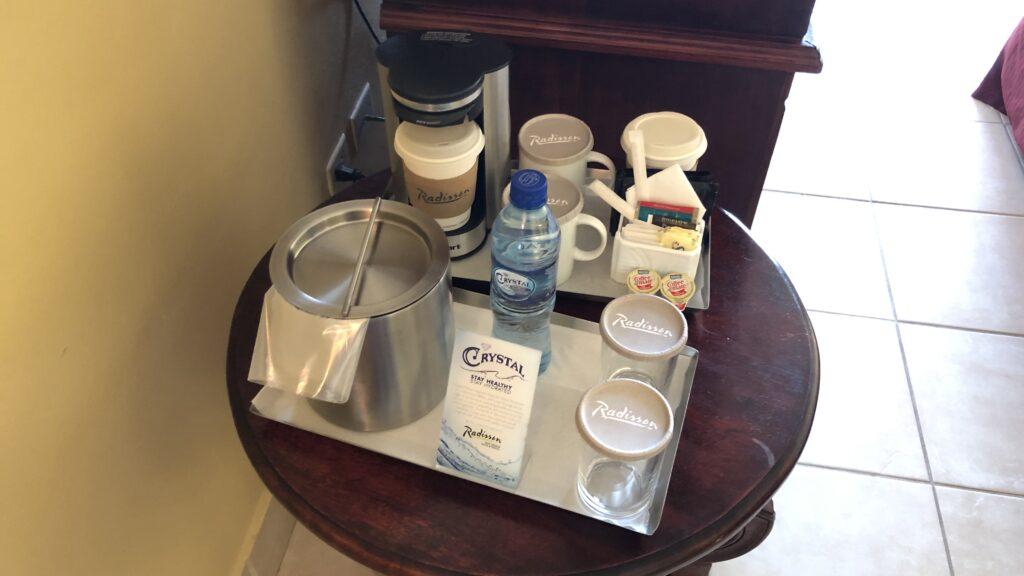 Radisson Belize City Kaffee Und Eis