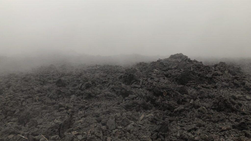 Vulkan Oberfläche Antigua Guatemala