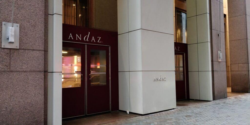 Andaz Wall Street New York Eingang