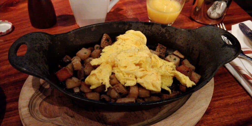 Andaz Wall Street New York Frühstück 5