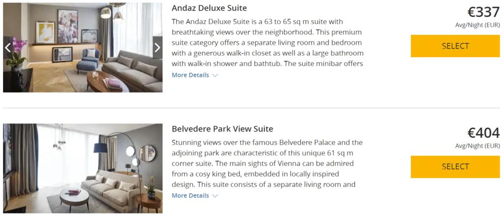 Andaz Wien 3rd Night Free Deluxe Suite