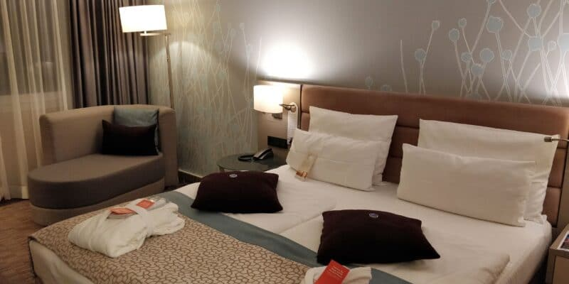 Crowne Plaza Berlin City Centre Zimmer 2
