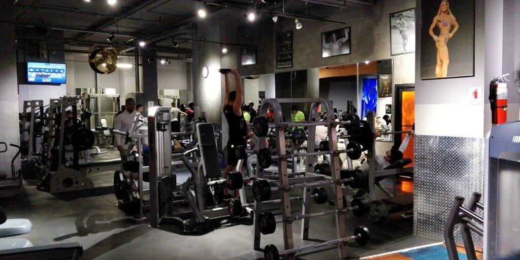 Distrikt Hotel New York Zimmer Fitness 1