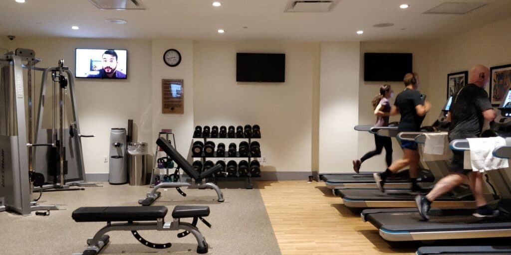 DoubleTree New York Times Square West Fitness 1