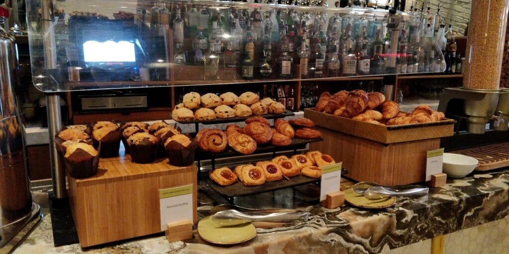 DoubleTree New York Times Square West Frühstück 1