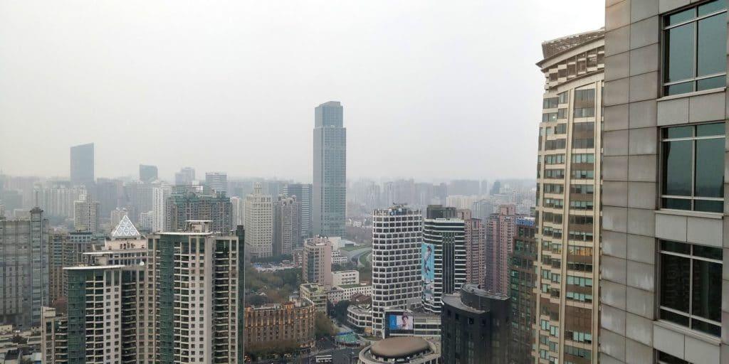 Four Seasons Shanghai Ausblick