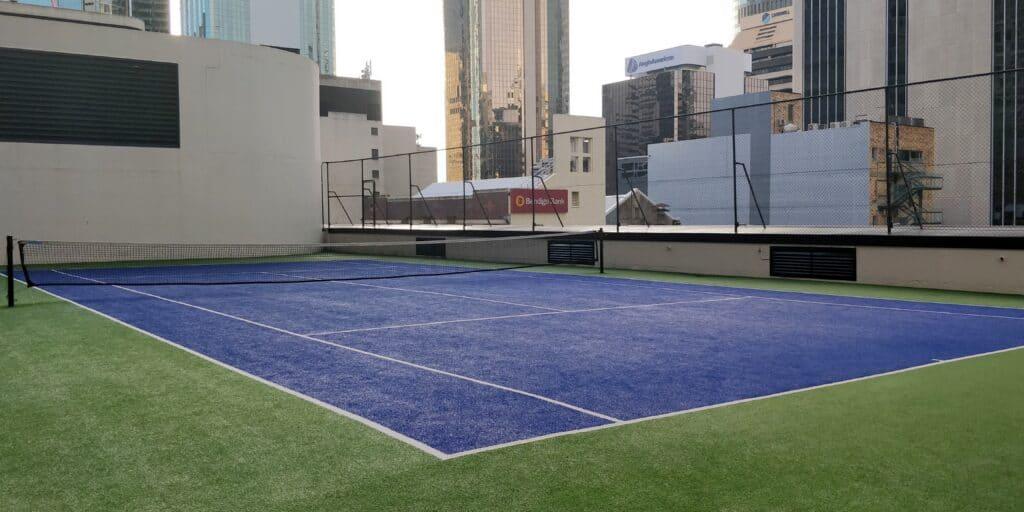 Hilton Brisbane Tennisplatz