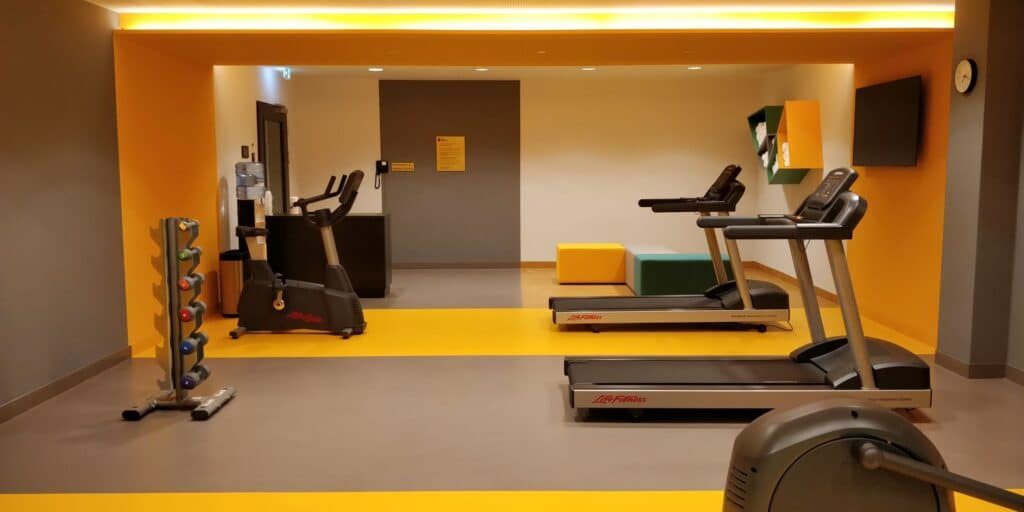 Hotel Indigo Berlin East Side Fitness 2