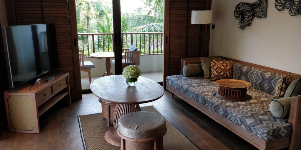 Hyatt Regency Bali Suite Wohnzimmer