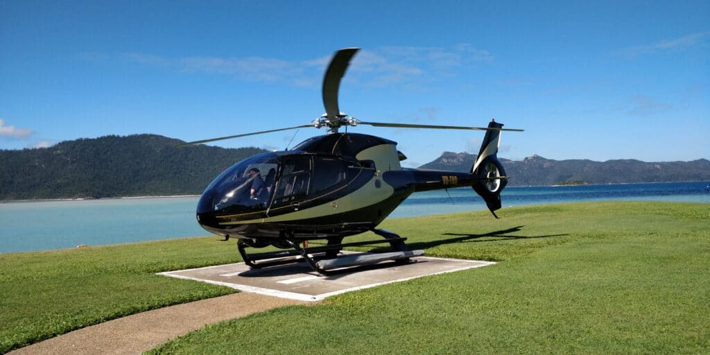 InterContinental Hayman Island Resort Helikopter