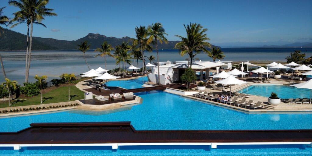 InterContinental Hayman Island Resort Suite Ausblick