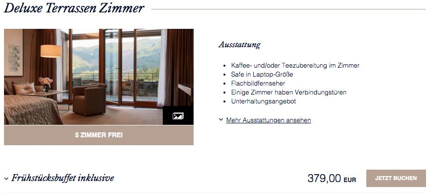 Kempinski Hotel Berchtesgaden Promo 2