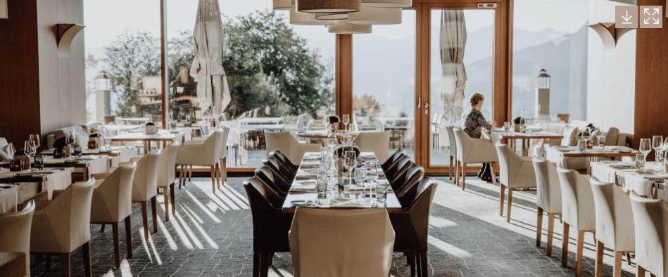 Kempinski Hotel Berchtesgaden Restaurant