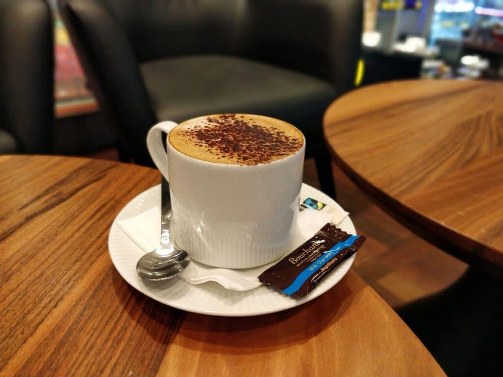 Primeclass Lounge Kopenhagen Kaffee