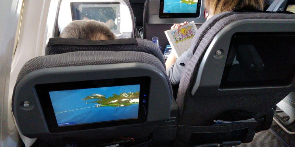 SAS Premium Economy Class Airbus A330 Sitz 1