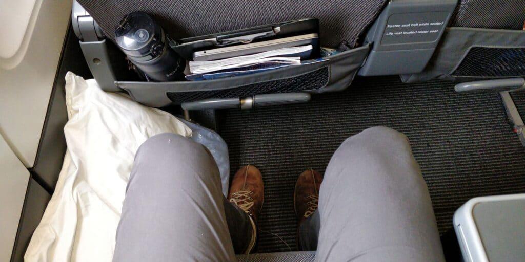 SAS Premium Economy Class Airbus A330 Sitz 10