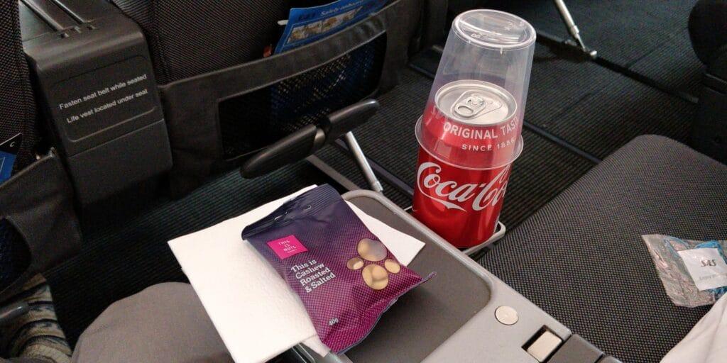 SAS Premium Economy Class Airbus A330 Sitz 11