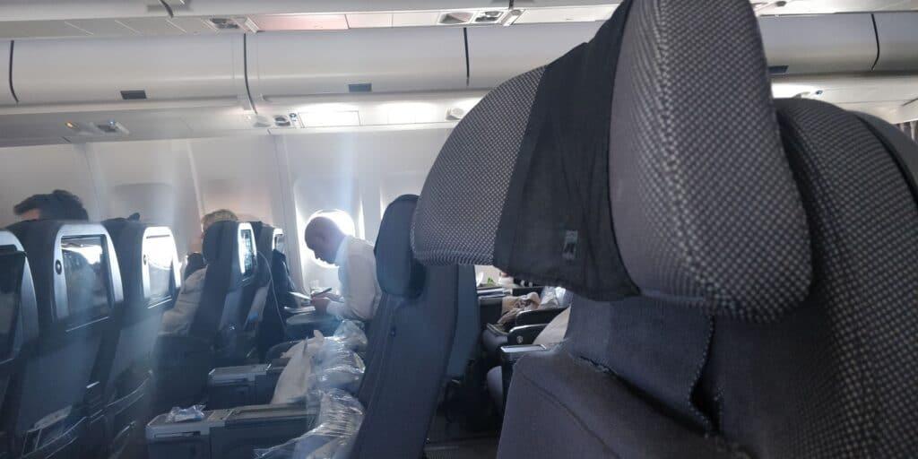 SAS Premium Economy Class Airbus A330 Sitz 13