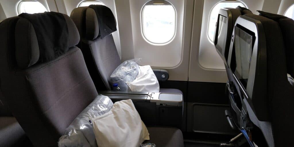 SAS Premium Economy Class Airbus A330 Sitz 4
