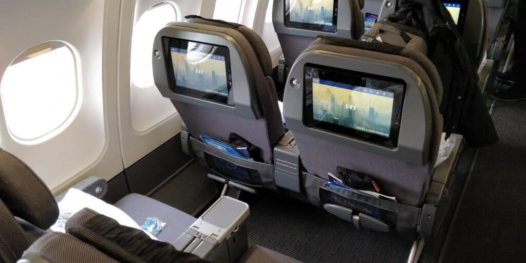 SAS Premium Economy Class Airbus A330 Sitz 5