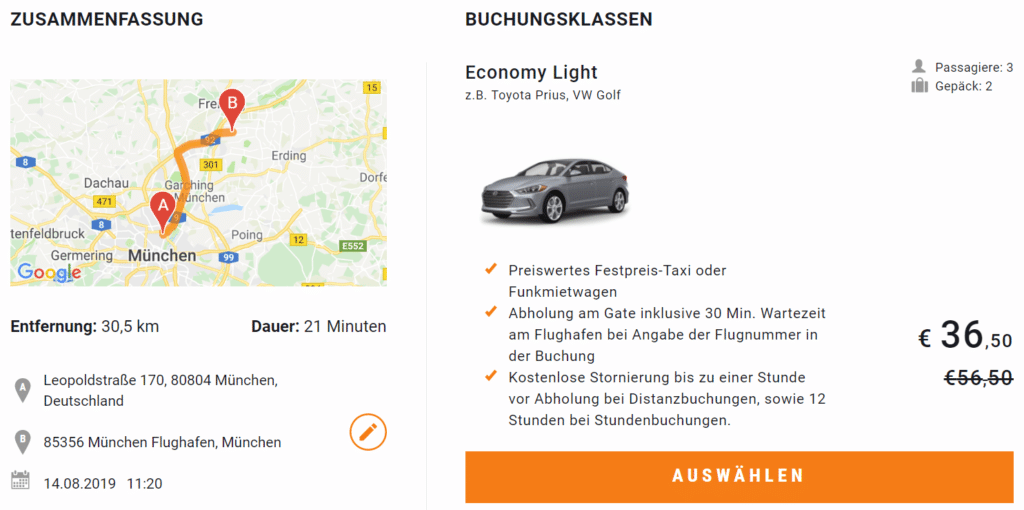 Sixt Ride Andaz München