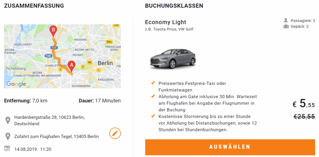 Sixt Ride Waldorf Berlin