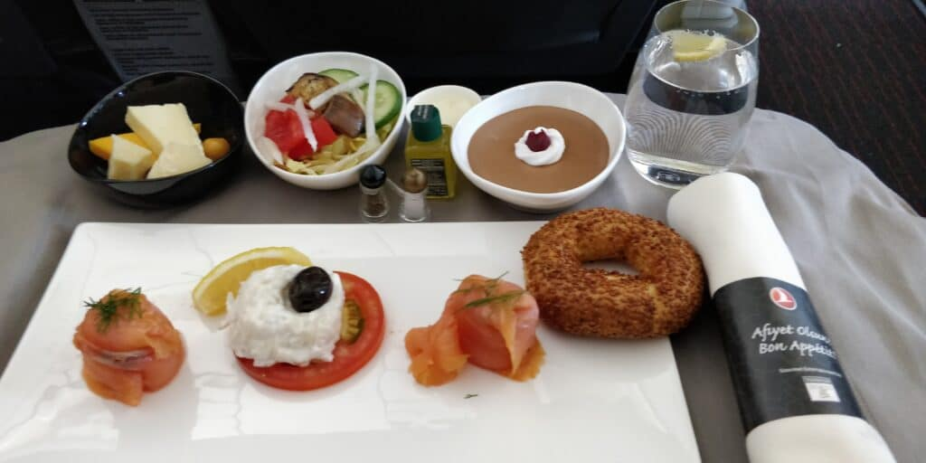Turkish Airlines Business Class Airbus A321 Essen