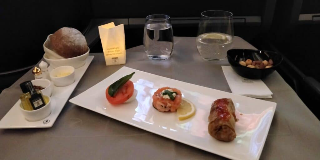 Turkish Airlines Business Class Boeing 787 Essen