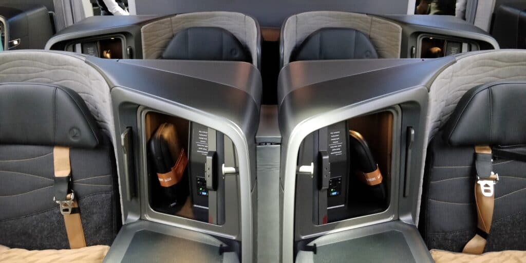 Turkish Airlines Business Class Boeing 787 Kabine 2