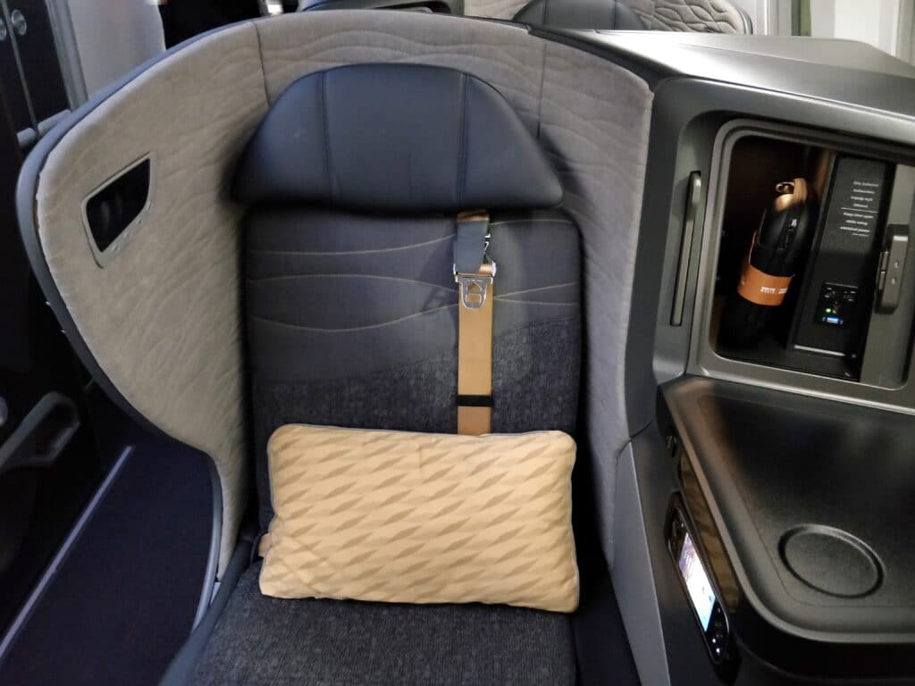Turkish Airlines Business Class Boeing 787 Sitz 2 (2)