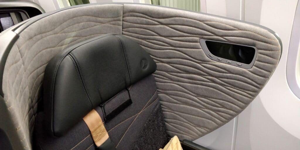 Turkish Airlines Business Class Boeing 787 Sitz 5