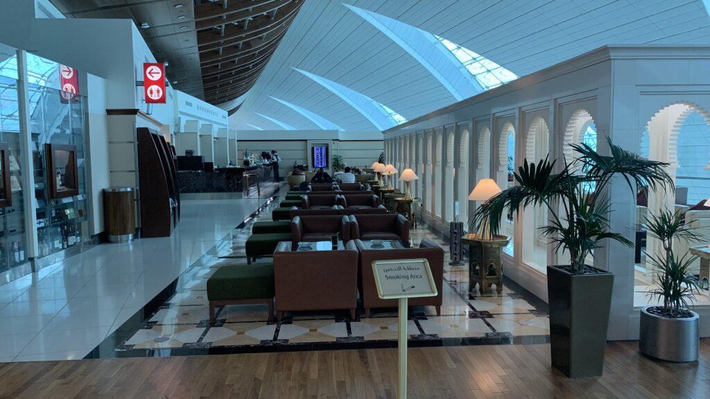 Emirates First Class Lounge Dubai B Lounge 2