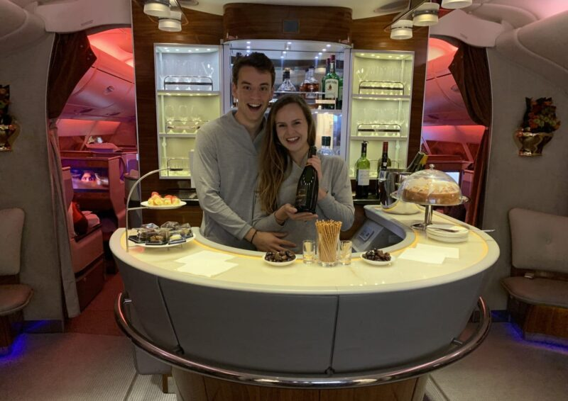 Marieke Jan Emirates First Class Bar