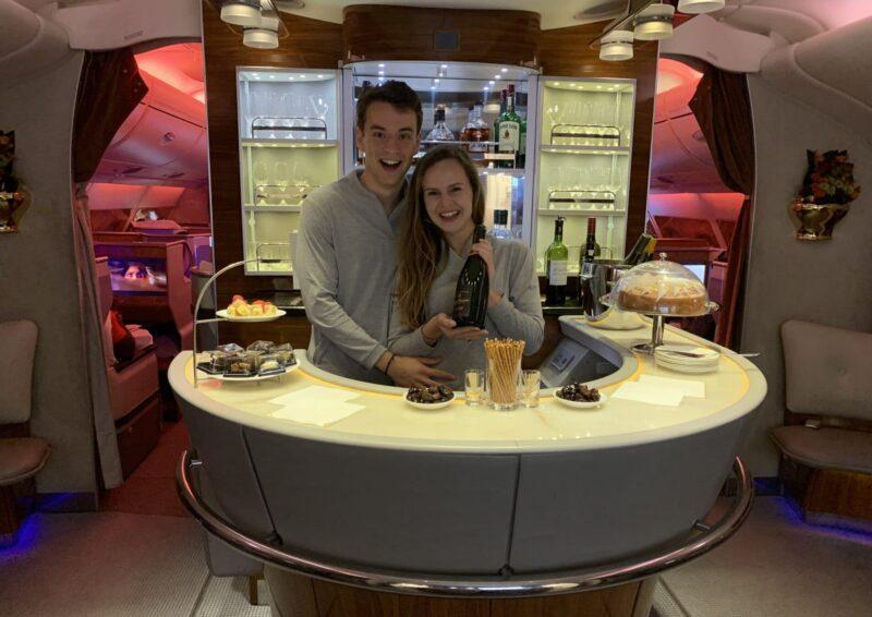 Marieke Jan Emirates First Class Bar