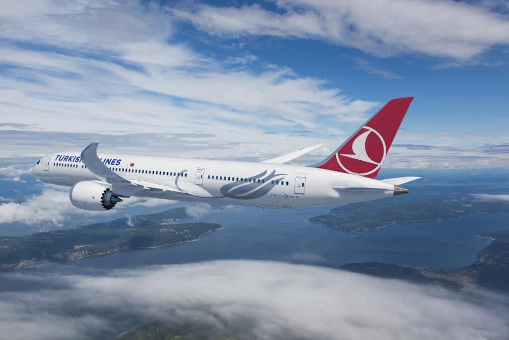 Boeing 787-9 Dreamliner Turkish Airlines
