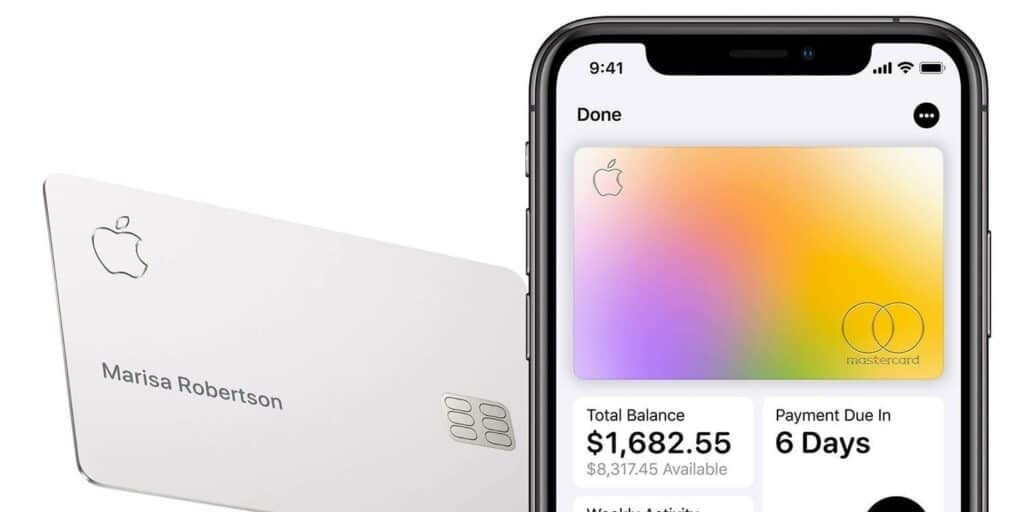 Apple Card auf dem iPhone