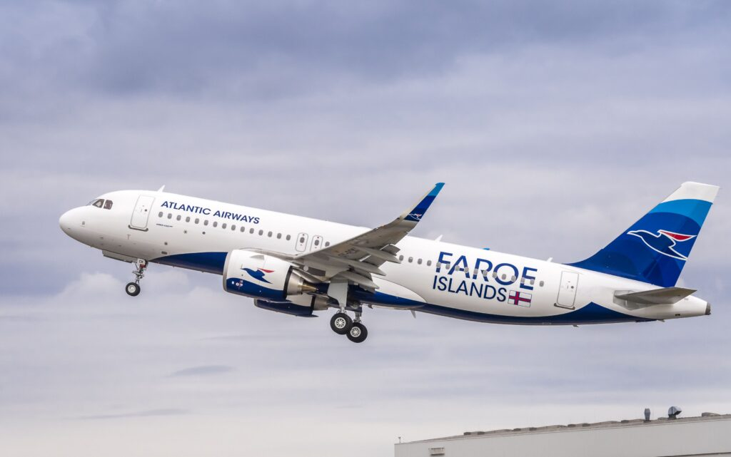 Atlantic Airways' First A320neo